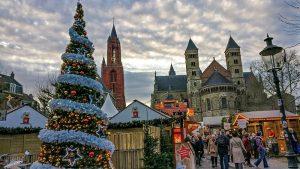 Maastricht Christmas Market on Vrijthof Square